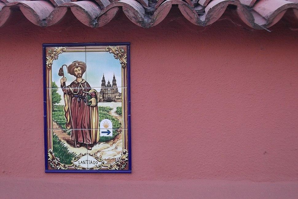 Azulexo, camiño das Gándaras, saíndo de Pontevedra.