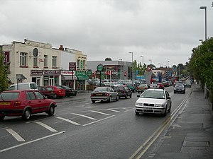 Branksome, Dorset - Image: Poole Road, Branksome geograph.org.uk 236488