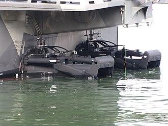 Kamewa - Rolls Royce Kamewa 90SII waterjets of a Hamina class missile boat