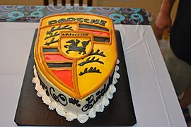 Porsche Birthday Cake made at Couture Cakes By Nika.jpg