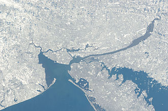 Port of New York and New Jersey - NASA image of the port district