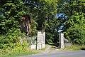 Portail d'entrée du château de Bisseret à Lavault-Sainte-Anne en juillet 2014.jpg