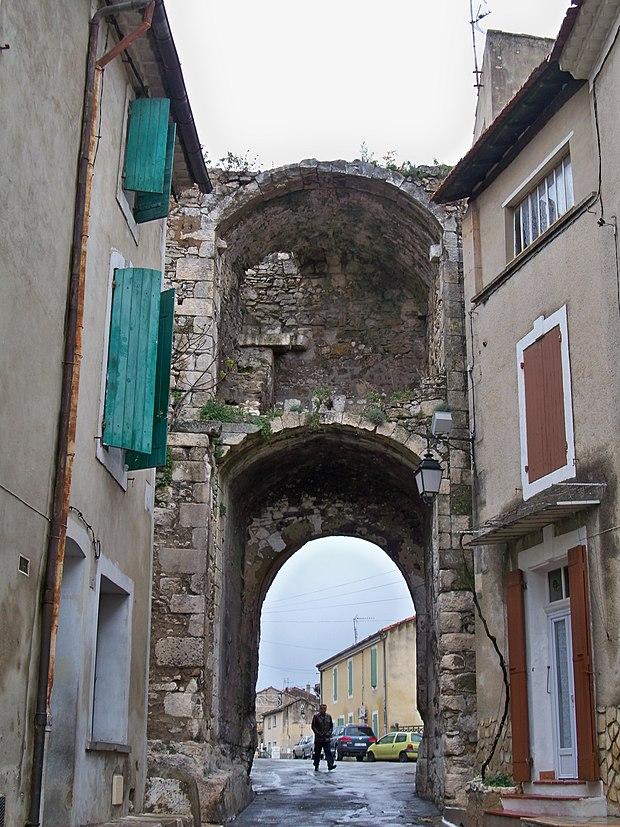 Monument historique à Orgon