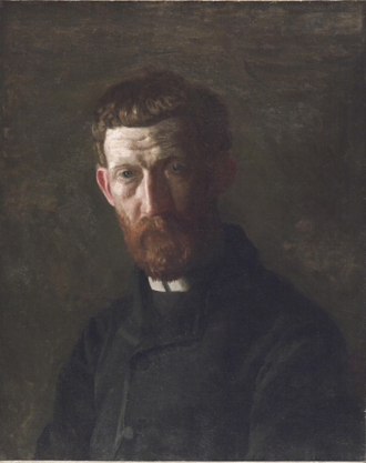 A. B. Frost - Portrait of A.B. Frost by Thomas Eakins