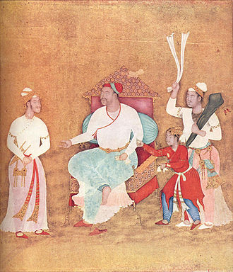 Ahmadnagar Sultanate - Image: Portrait of Burhan Nizam Shah II