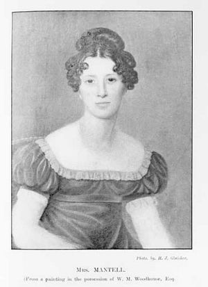 Mary Ann Mantell - Image: Portrait of Mary Ann Mantell