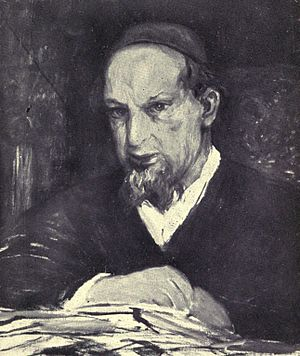 Remy de Gourmont - Portrait of Gourmont, by Hélène Dufau