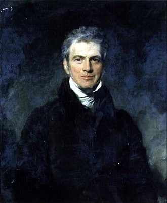 Harford Jones-Brydges - Portrait, oil on canvas, of Sir Harford Jones Brydges, 1st Baronet (1764–1847) by Sir Thomas Lawrence (1769–1830)