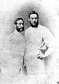 Portrait of William Gilbert Grace and brother Wellcome L0001918.jpg