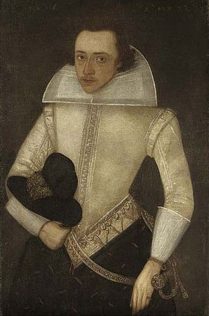 Anthony Babington - Portrait of young gentleman said to be Anthony Babington