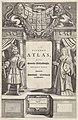 Portretten van Dirk I en Maria van Bourgondië Titelpagina voor J. Jansson Nieuwen Atlas ofte Weerelts-Beschrijvinghe, 1658, RP-P-OB-16.085.jpg