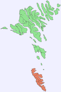 Position of Suðuroy on Faroe map.png