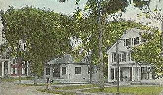 Swanzey, New Hampshire - Image: Post Office, West Swanzey, NH