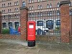 Post box on Waterloo Road, Liverpool.jpg