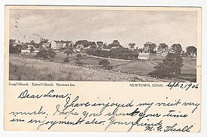 History of Newtown, Connecticut - Newtown in 1906