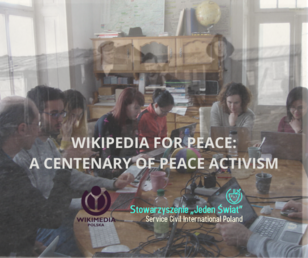 Poster - Wikipedia for Peace - A Centenary of Peace Activism.png