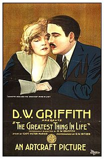 <i>The Greatest Thing in Life</i> 1918 film