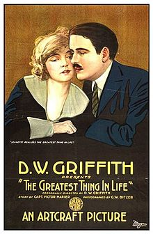 Poster of the movie The Greatest Thing in Life.jpg
