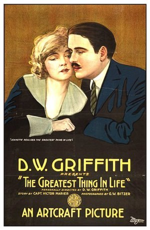 The Greatest Thing in Life - Film poster