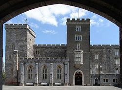 PowderhamCastle FromUnderGatehouse.jpg