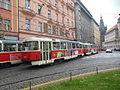 Praha, Senovážné náměstí, tramvaje (01).jpg