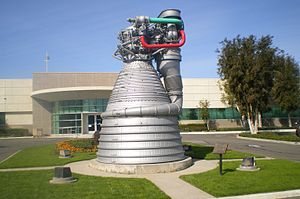 Rocketdyne - Rocketdyne, former main production facility in Canoga Park, Los Angeles.