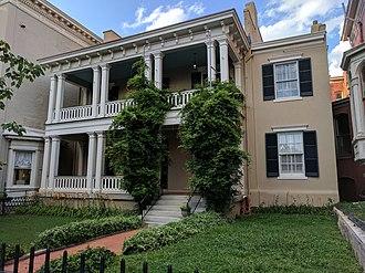 Monroe Ward - State headquarters of Preservation Virginia on West Franklin Street in Monroe Ward.
