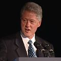 President Clinton at a Dinner Honoring Rep. John Lewis (2000) 11.jpg