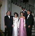 President John F. Kennedy Attends A Dinner for Minister of State for Cultural Affairs of France, André Malraux.jpg