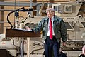 President Trump the First Lady Visit Troops in Iraq (46502775991).jpg