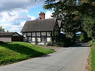 Preston Gubbals village in United Kingdom