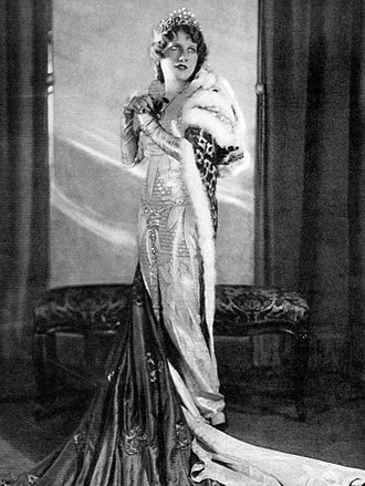 Princess Flavia - Evelyn Herbert in the title role of  Princess Flavia (1925)
