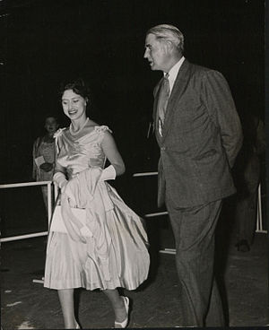 Oswald Raynor Arthur - Sir Raynor Arthur welcomed Her Royal Highness Princess Margaret when she made a brief visit to Nassau in May 1958