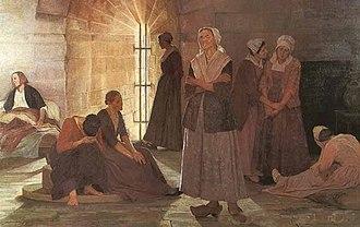 Marie Durand - Prisonnières huguenotes à la Tour de Constance, par Jeanne Lombard
