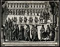 Procession of courtiers to the chapel of Fontaine-bleau, to Wellcome V0049743.jpg