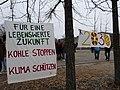 Protest banner at the Invalidenpark 01.jpg