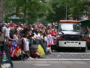 The Puerto Rican Day Parade in 2004