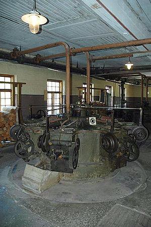 Verla - Image: Pulp production machine