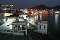 Pushkar, India, Pushkar Lake at night.jpg