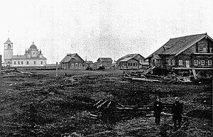 Pustozersk - Pustozyersk, 1908.