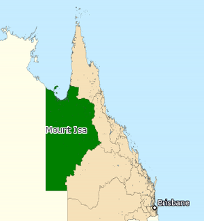 Electoral district of Mount Isa