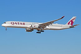 Qatar Airways Airbus A350-1000 (A7-ANA).jpg