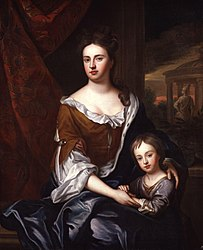 anonymous: Queen Anne; William, Duke of Gloucester
