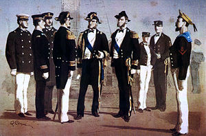 Quinto Cenni - Uniforms of the Italian Royal Navy, 1873