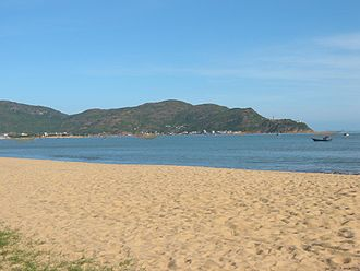 Qui Nhơn - The beachfront at Quy Nhon