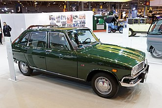 Renault 16 - 1972 US-market Renault 16 Sedan-Wagon