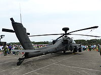 ROCA AH-64E 816 Display at Hukou Camp Right Rear View 20140329.jpg