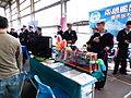 ROCN 151th Fleet Recurit Booth 20140327.jpg