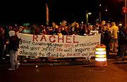 Vigil in Olympia, WA