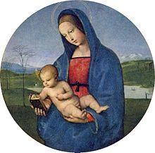 Madonna Connestabile (1502–1504), Eremitage St. Petersburg (Quelle: Wikimedia)